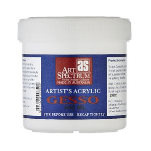 Art Spectrum Acrylic Gesso 500mL
