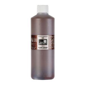 Art Spectrum Pigmented Ink 500mL Burnt Sienna