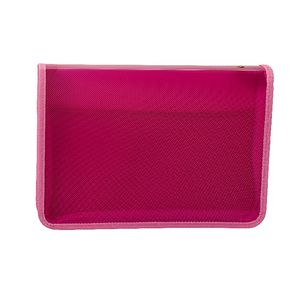 AusInc A4 Document Box with Zip Pink
