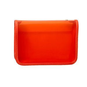 AusInc A5 Document Box with Zip Orange