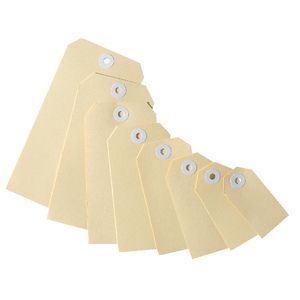 Avery Heavy Duty Buff Shipping Tags Size 1 100 Pack