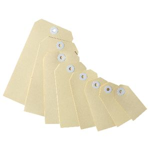 Avery Shipping Tags Buff Size 4 1000 pack