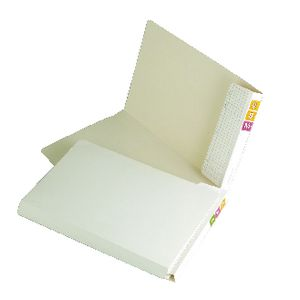 Avery Fullvue Lateral File with 30mm Gusset White 100 Pack