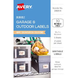 Avery Eclectic Collection Rectangle Labels 10 Pack