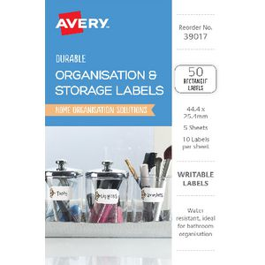 Avery Cottage Collection Rectangle Labels 50 Pack