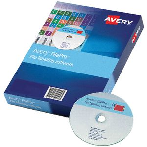 Avery FilePro File Labelling Software 10 PCs Box
