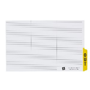 Avery Out Guide Tabs Yellow 25 Pack