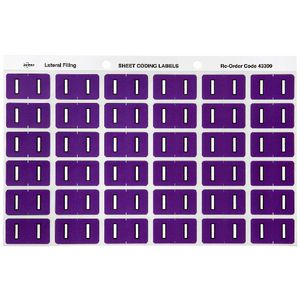 Avery Lateral File Side Tab Label 'I' 180 Pack