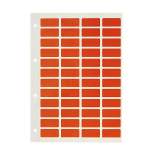 Avery Block Label Orange 240 Pack