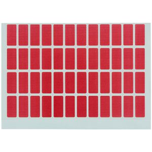 Avery Block Label Red 240 Pack