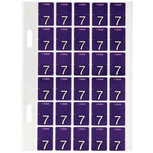 Avery Lateral File Top Tab Label '7' 150 Pack