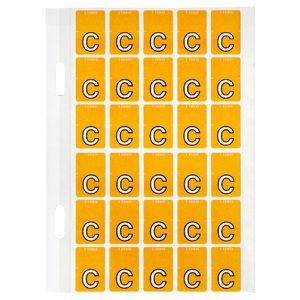 Avery Lateral File Top Tab Label 'C' 150 Pack