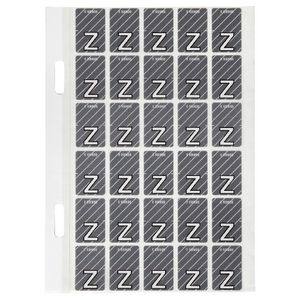 Avery Lateral File Top Tab Label 'Z' 150 Pack