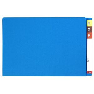 Avery Foolscap Lateral File Blue 100 Pack