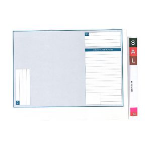 Avery Lateral Note Standard File 35mm Expansion 100 Pack