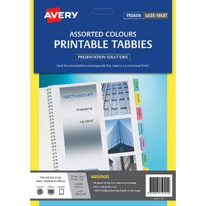 Avery Tabbies Assorted 48 Pack