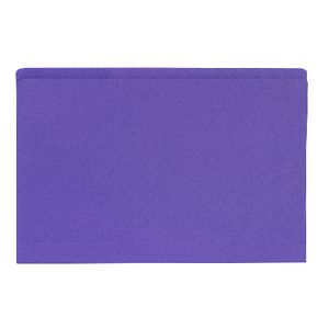 Avery Foolscap Manilla Folder Purple 100 Pack