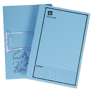 Avery Foolscap Files with Tubeclip Fastener Blue 20 Pack