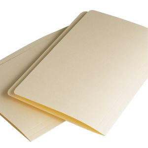 Avery Foolscap Extra Heavy Manila Folders Buff 10 Pack