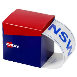 Avery State Packaging and Pallet Labels NSW 100 x 152.4mm