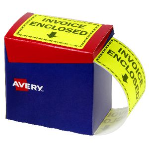 Avery 75 x 99.6mm Invoice Enclosed Labels