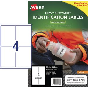 Avery Durable Heavy Duty Labels 40 Pack