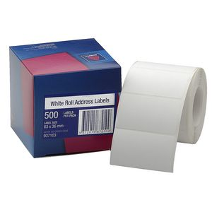 Avery Roll Address Labels 500 Pack