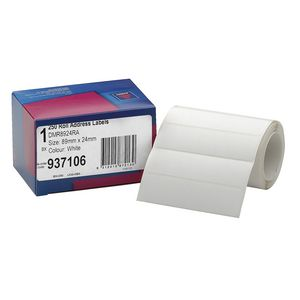 Avery Roll Address Labels 250 Pack