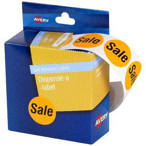 Avery Pre-printed Dispenser Label 'Sale' 24mm 500 Pack