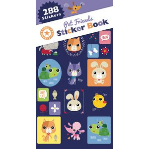 Artwrap Sticker Book Pet Friends