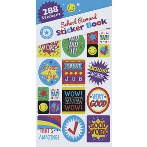 Artwrap Sticker Book School Reward