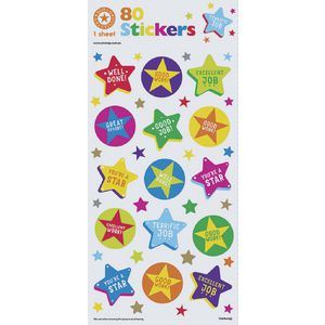 Artwrap Stickers Reward Stars