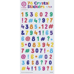 Artwrap Stickers Bright Numbers