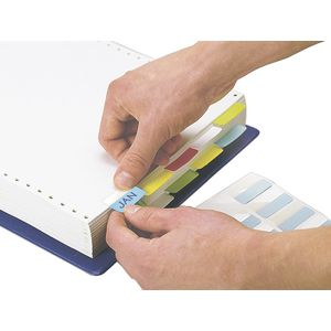 3L Index Tabs 40mm Assorted Colours 48 Pack