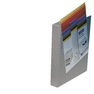 Bantex Insert Binder A4 2 D-Ring 25mm Grey