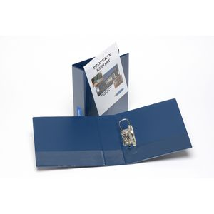 Bantex A4 Insert Lever Arch File 70mm Blue