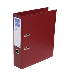 Bantex A4 Extra Capacity 2 Ring Lever Arch Folder Red