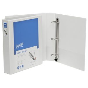 Bantex A4 3 D-Ring Insert Binder 38mm Lever White 15 Pack
