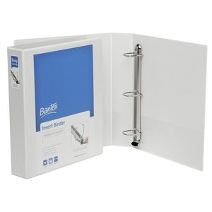 Bantex A4 4 D-Ring Insert Binder 38mm Lever White 15 Pack