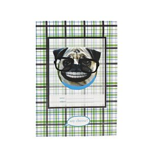 Book Cover A4 Pug Smile