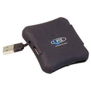 QPIX Multi Card Reader and USB Hub