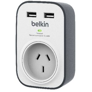 Belkin 1 Outlet with 2 USB Ports 2.4A
