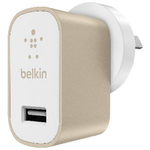 Belkin MIXIT Home Charger Metallic Gold
