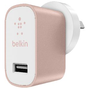 Belkin MIXIT Home Charger Metallic Rose Gold