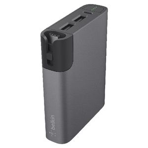 Belkin RockStar USB-C Powerbank Grey