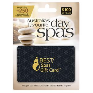 Best Spa Gift Card $100