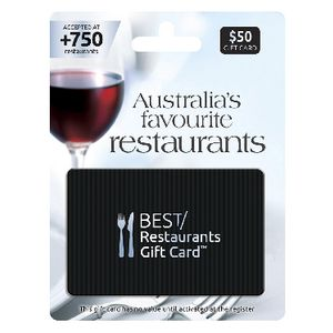 Best Restaurants Gift Card $50
