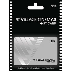 Village Cinema Gift Card $30