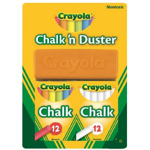 Crayola Chalk 'n Duster Set
