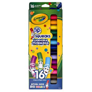 Crayola Pip-Squeaks Washable Markers 16 Pack